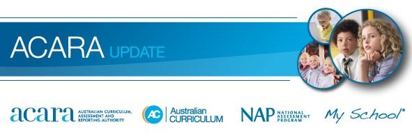 ACARA Update banner