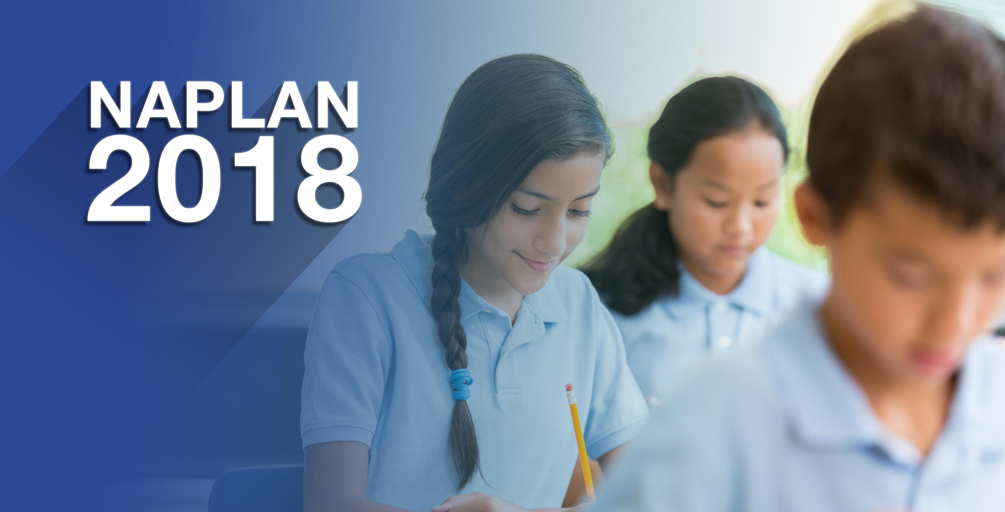 NAPLAN 2018 homepage banner